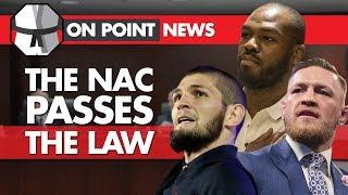 The NAC Passes Down The Law - Nurmagomedov, McGregor, Jones & Dana White React