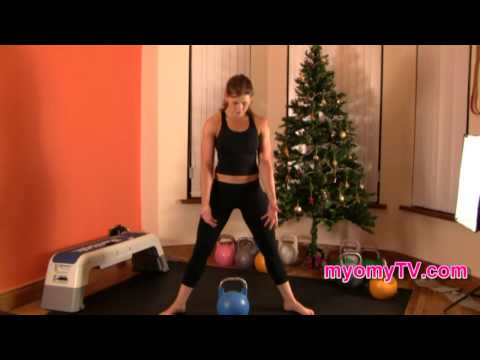 Kettlebell Sumo Deadlift - Exercise Tutorial Image 1