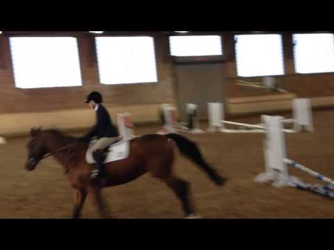 Hollywood Equine IEA Show at the Ethel Walker School - Jumping Round on HT - 10/12/14 - 10/13/2014