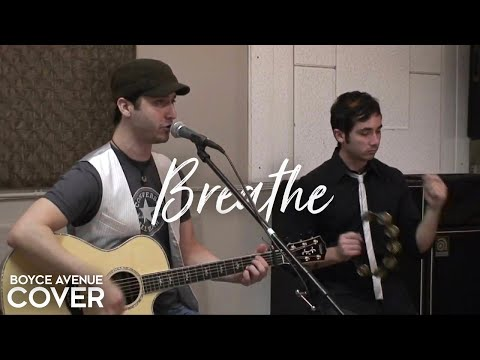 Taylor Swift / Colbie Caillat - Breathe (Boyce Avenue acoustic cover) on
