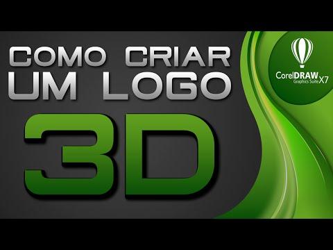 Como criar um logo 3D no CorelDraw X7