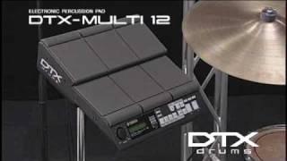 Yamaha dtx multi 12 digital percussion pad guitar center for Yamaha dtx multi pad