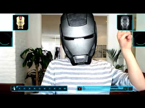 I Am Iron Man 2 (Augmented Reality App)
