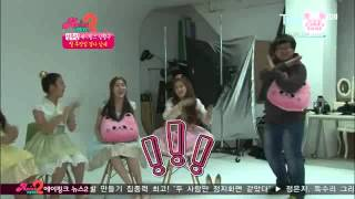 A Pink funny CF filming plus A pink theatre