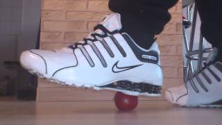 Nike Shox NZ EU vs Tomate