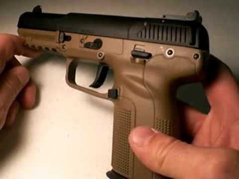 FN Five-Seven pistol: Long Range Firepower, Part 4 Video