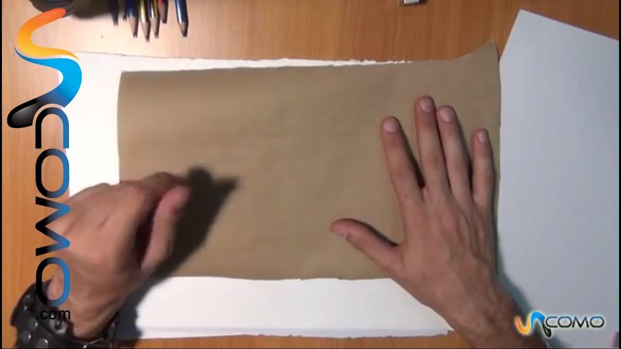 Tipos de papeles para dibujar curso dibujo youtube for Papel para dibujar