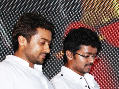 Who will conduct. Vijay or Surya ?