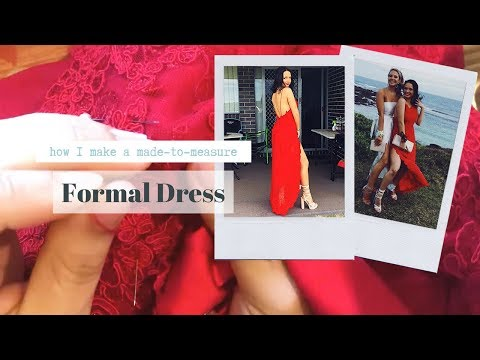 CREATING A MADE-TO-ORDER FORMAL/PROM DRESS FOR A CLIENT // FASHION DESIGN BTS // CARLEY ROSE STUDIO