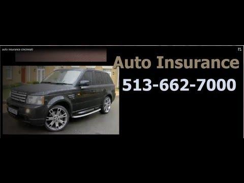 Auto Insurance Cincinnati- Call 513-662-7000 For Quotes