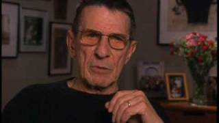 Leonard Nimoy discusses the Star Trek feature films - EMMYTVLEGENDS.ORG
