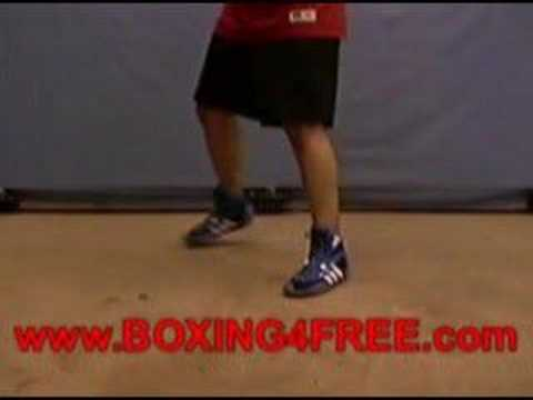 Boxing Lesson - Basic Footwork - boxing4free.com Image 1