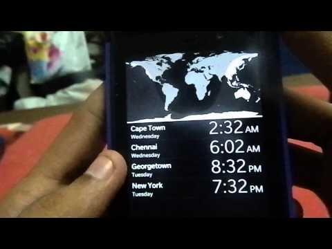 How to get the Porsche Design Clock on Blackberry Z10