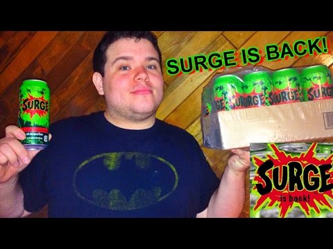 SURGE IS BACK!!!! Soda Review - '90s Childhood Nostalgia