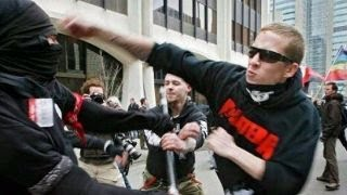 Liberals think Antifa threat not real