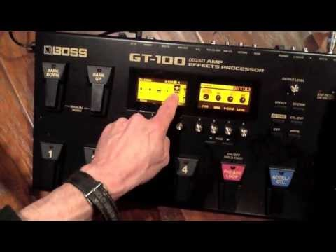 BOSS GT 100 Connections with Roland GA 212