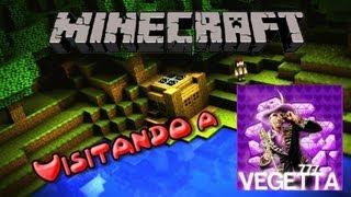 Minecraft Xbox360 - Visitando a Vegetta777