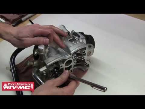 Valve Replacement On A Motorcycle Or ATV