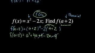 Evaluating Functions (advanced)