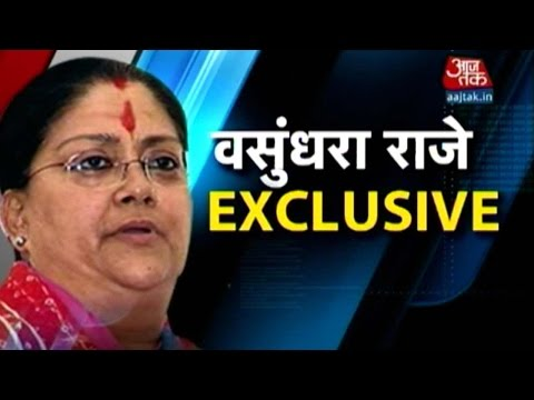 Exclusive: Vasundhara Raje On Govt's Plan To Support Rain-Hit Farmers