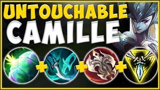 HOW HAS SHIELD BASH STILL NOT BEEN NERFED ON CAMILLE?? CAMILLE S10 TOP GAMEPLAY! - League of Legends
