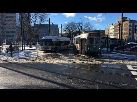 MBTA Green Line Ride On Heath Street Branch