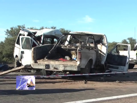 Diez personas fallecieron en accidente vial