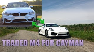 Why I Swapped My BMW M4 For A 981 Cayman