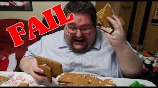 Francis Fails at A Gingerbread House