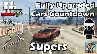 Fastest Supercars - Best Fully Upgraded Cars In GTA Online