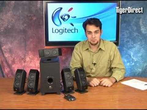 Logitech X-540 Surround Sound Speakers Video