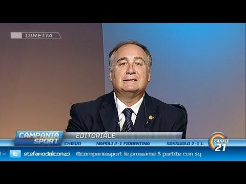 """Chiariello dopo la Fiorentina: """"Il Napoli finalmente emoziona"""" - Campania Sport 18/10/15"""