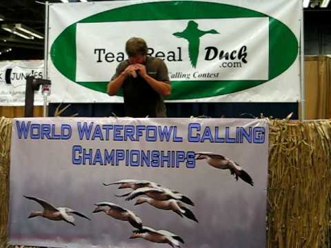 Travis Schneider, World Waterfowl Calling Championship, Open Mallard Meat