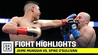 HIGHLIGHTS | Jaime Munguia vs. Spike O'Sullivan