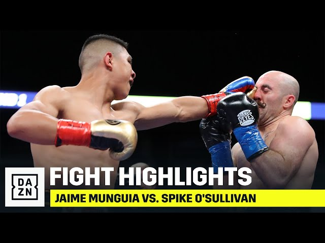 HIGHLIGHTS | Jaime Munguia vs. Spike O'Sullivan thumbnail