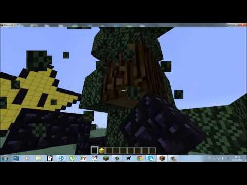 Minecraft Tutorial Come Costruire La Stella Di Mario Bros/Pixel Art