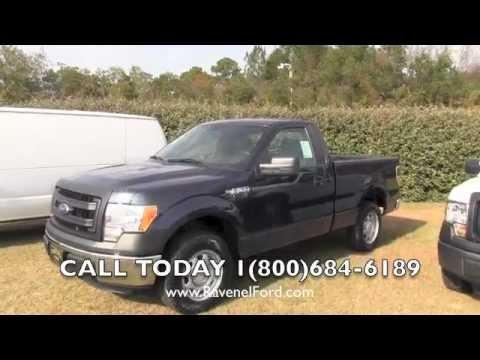 2013 Ford F-150 XL Regular Cab Review Video * 3.7L Blue Jeans Metallic