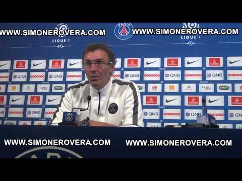 PSG, Laurent Blanc ne ferme pas la porte au départ de Lavezzi: