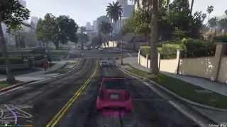 Grand Theft Auto V Phenom II X4 955 GTX 750 Ti Gameplay