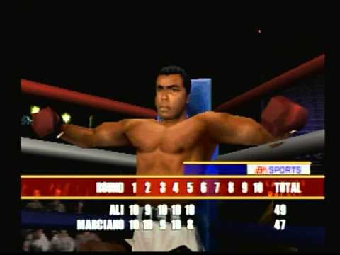 EA Sports Knockout Kings 2000 (Playstation) Game Play