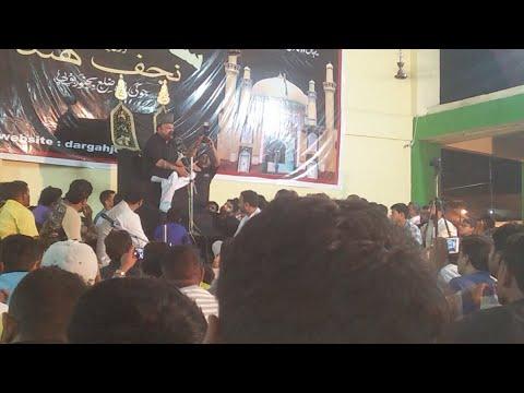 Jawed Abdi Exclusive Live Majlis Jogipura Dargah 2018