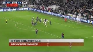 Tin Bóng Đá 24h Hôm Nay: Video Tổng Hợp Bàn Thắng Lượt Đi Tứ Kết Cup C1 2017