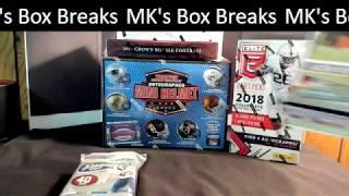 EBAY AUCTION 2JUL2018 5 Box MIXER BREAK FOOTBAL