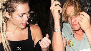 Miley Cyrus y Cody Simpson Se Accidentan