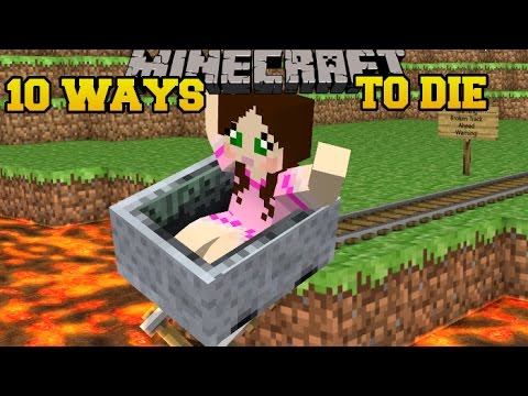 Minecraft: CRAZIEST DEATHS IMAGINABLE! - MORE WAYS TO DIE - Custom Map