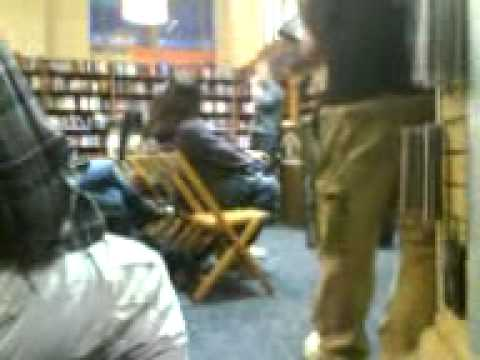 Tucker Max book signing Part 1 (he ripps on lebron)