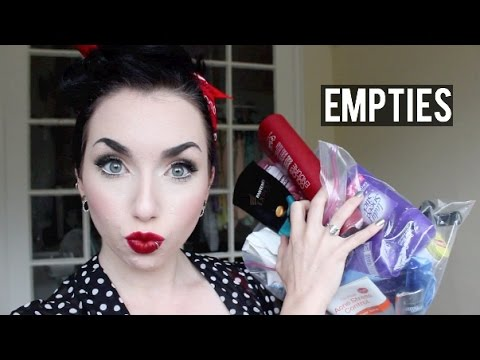 EMPTIES   Mini reviews on makeup & hair care products!