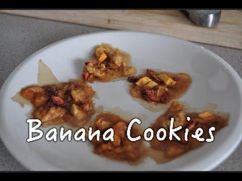 Banana Cookies   Low-Fat Raw Vegan 80-10-10
