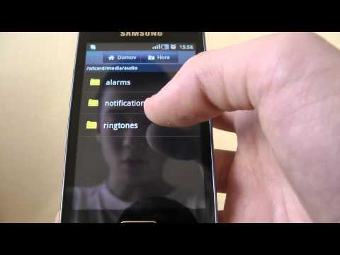 How to set custom ringtones on Samsung Galaxy Ace