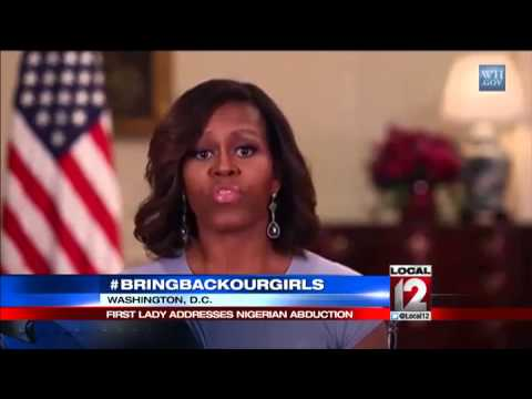 First Lady addresses kidnapping of Nigerian girls
